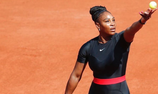 A brief history of Serena Williams' on-court catsuits