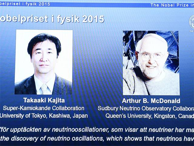 A glance at the winners of the Nobel Prize for Physics