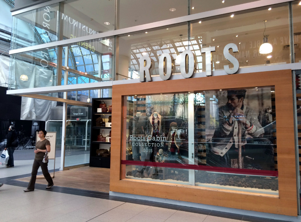 Retailer Roots sales up, profits down in third quarter compared to year ago