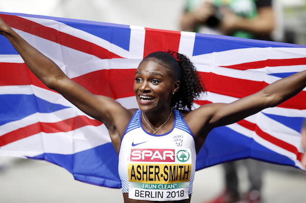 Dina Asher-Smith makes it a double win