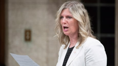 Toronto-area Liberal MP Leona Alleslev crosses the floor to join Conservatives