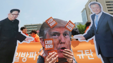 U.S. officials meet with North Korea despite flip-flops over Trump-Kim summit