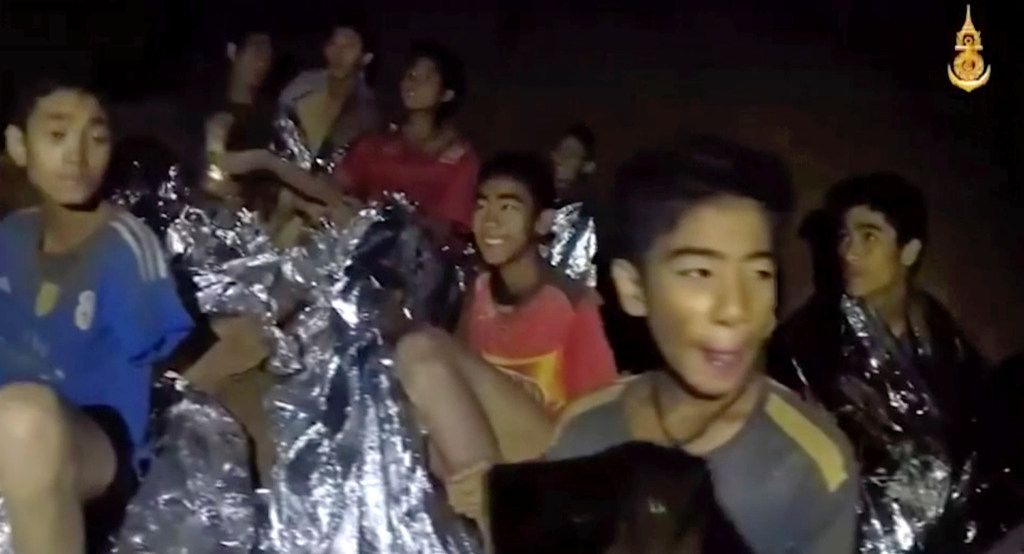 Rescuers start teaching trapped Thai cave boys to swim and dive