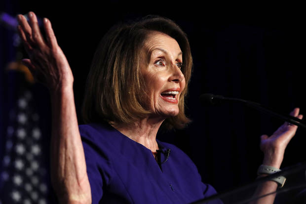Pelosi as House speaker would 'show the power of the gavel'