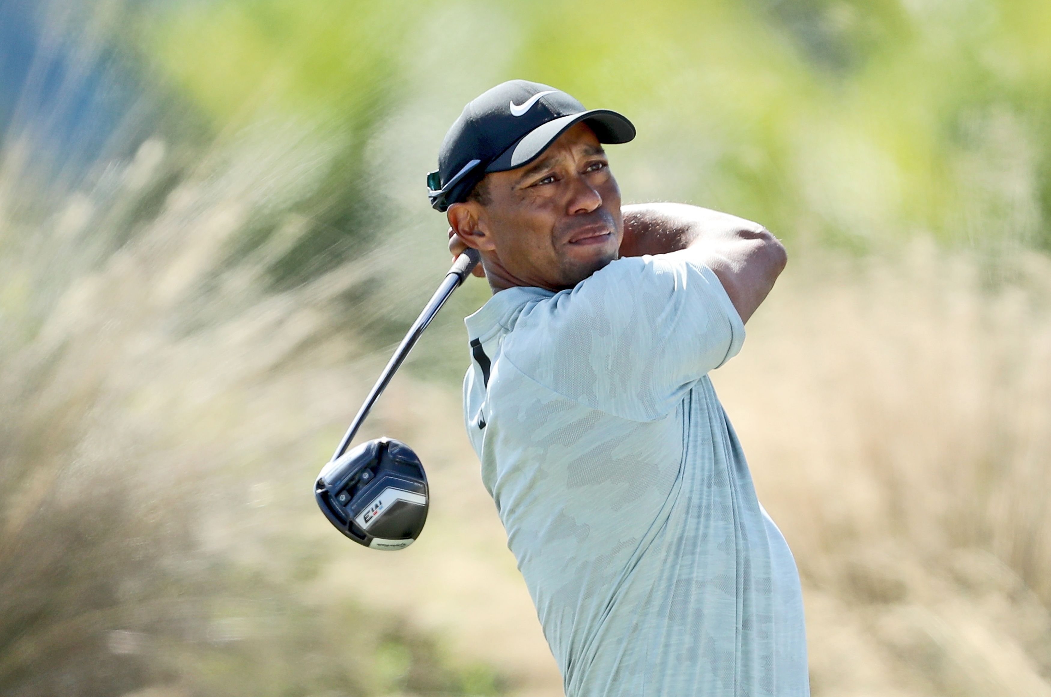 Tiger Woods drives it great but stumbles in perfect conditions at Hero World Challenge