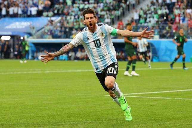 Nigeria knocked out of World Cup by Messi's Argentina