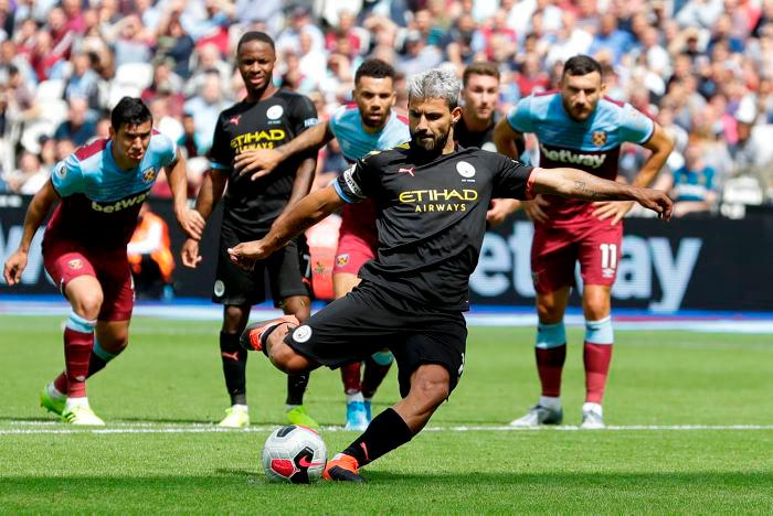 Manchester City golea al West Ham