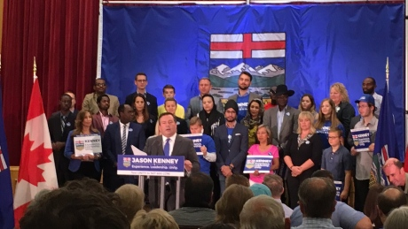 Jason Kenney announces UCP leadership campaign