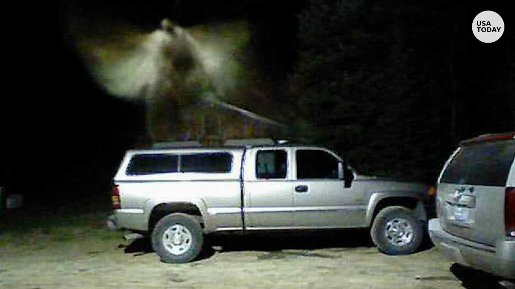 Fire chief believes he captured angel on camera