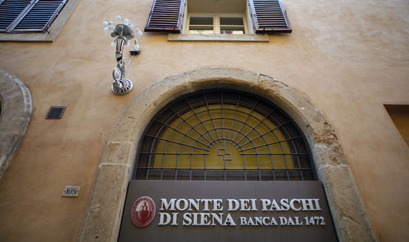 Fears for ANOTHER financial crisis as Italy banking giant Monte dei Paschi set for bailout