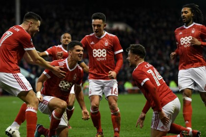 FA Cup: holders Arsenal sent crashing out by Nottingham Forest