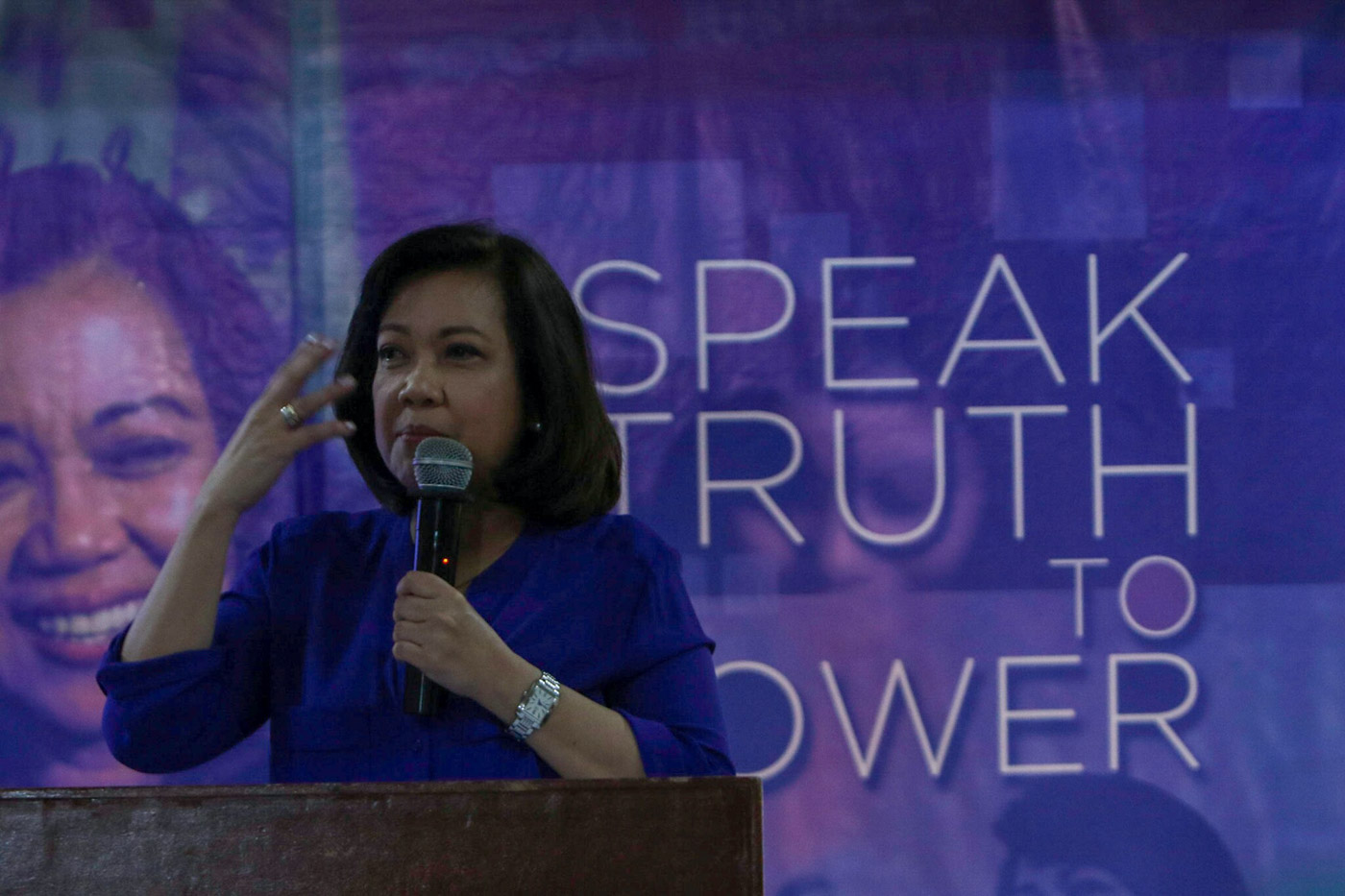 Sereno on quo warranto: SolGen is 'forum shopping'