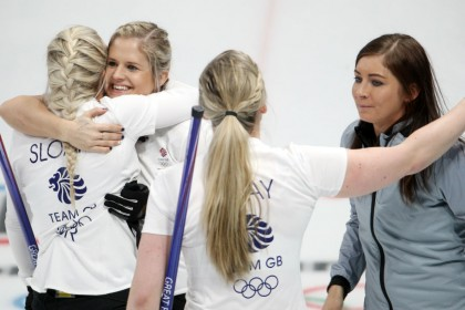 Winter Olympics digest: Team GB coach branded a 'traitor curler'