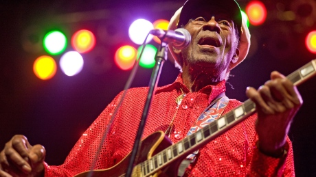'A legend just left the building': Entertainment world reacts to Chuck Berry's death