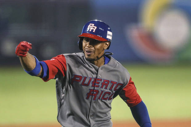 Lindor homers twice, Puerto Rico beats Mexico 9-4