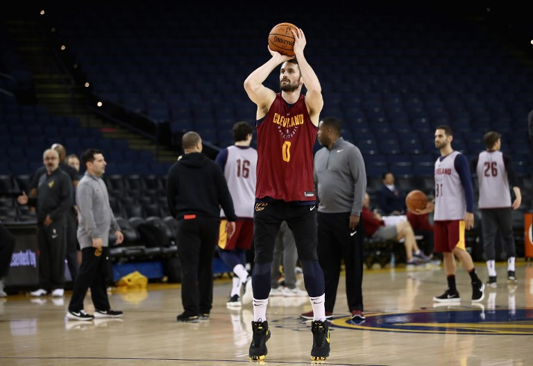 Love cleared, set to play in NBA Finals opener after concussion