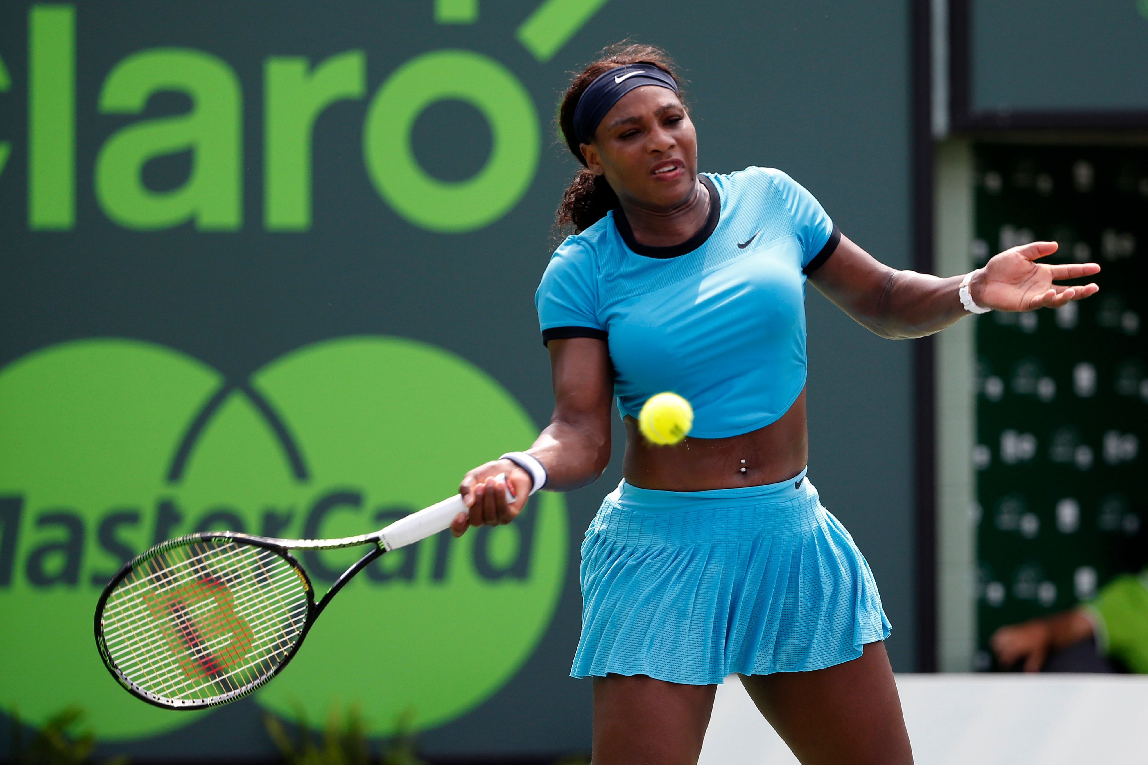 Coach says Serena Williams 'clearly came back too early' but adds she can win French Open