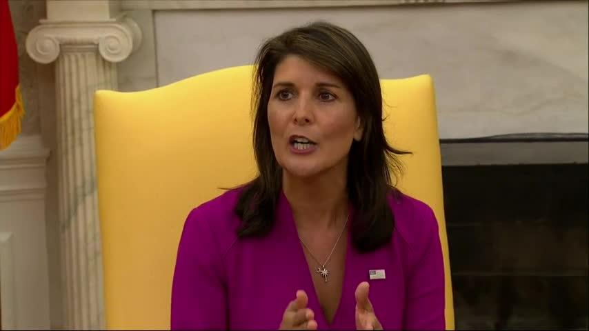 Nikki Haley: I'm not running for president