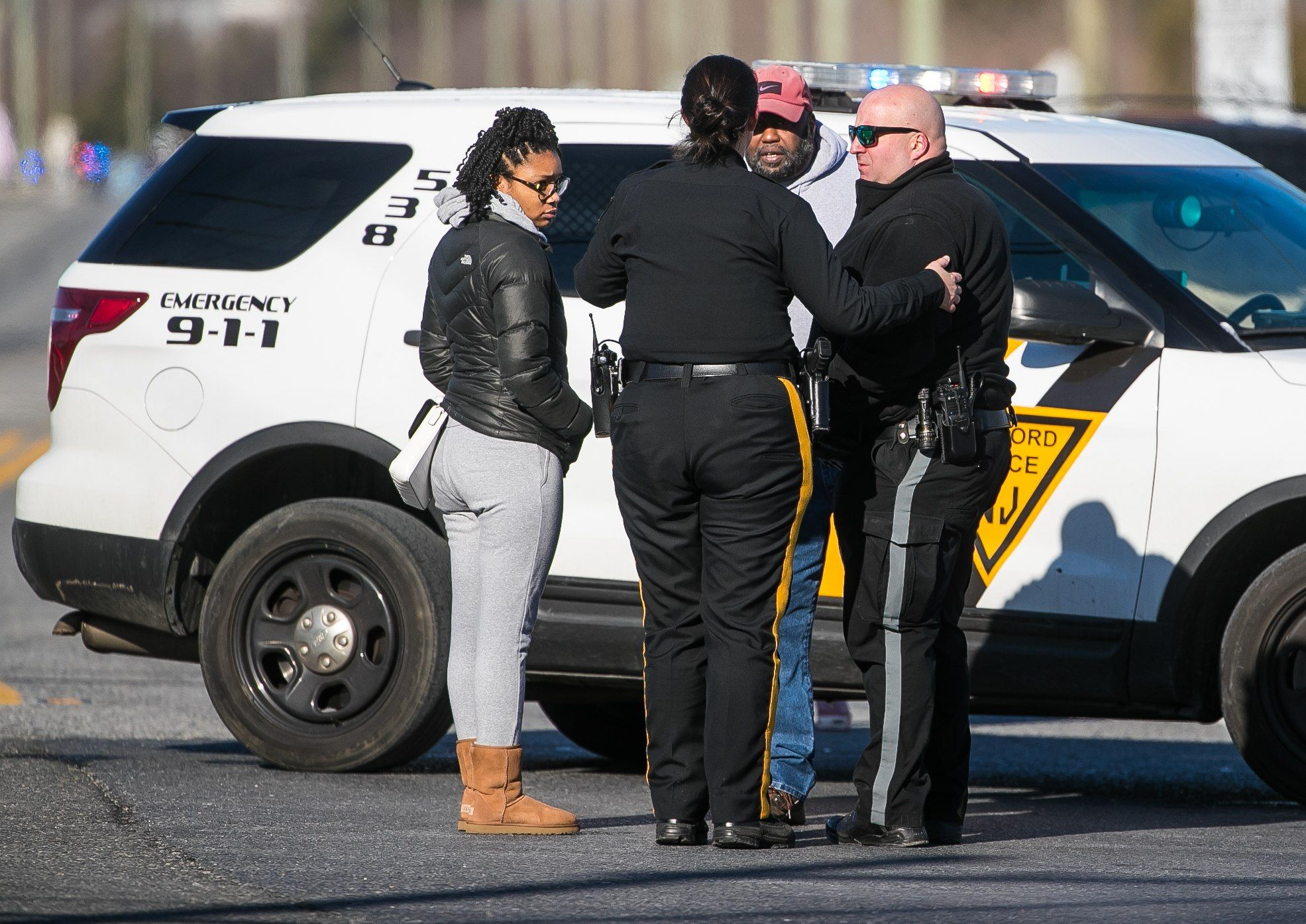 Suspect shot, hostages safe at UPS facility in New Jersey