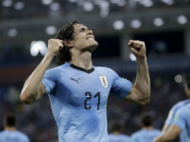 Uruguay beat Portugal 2-1, will meet France in the quarter-finals