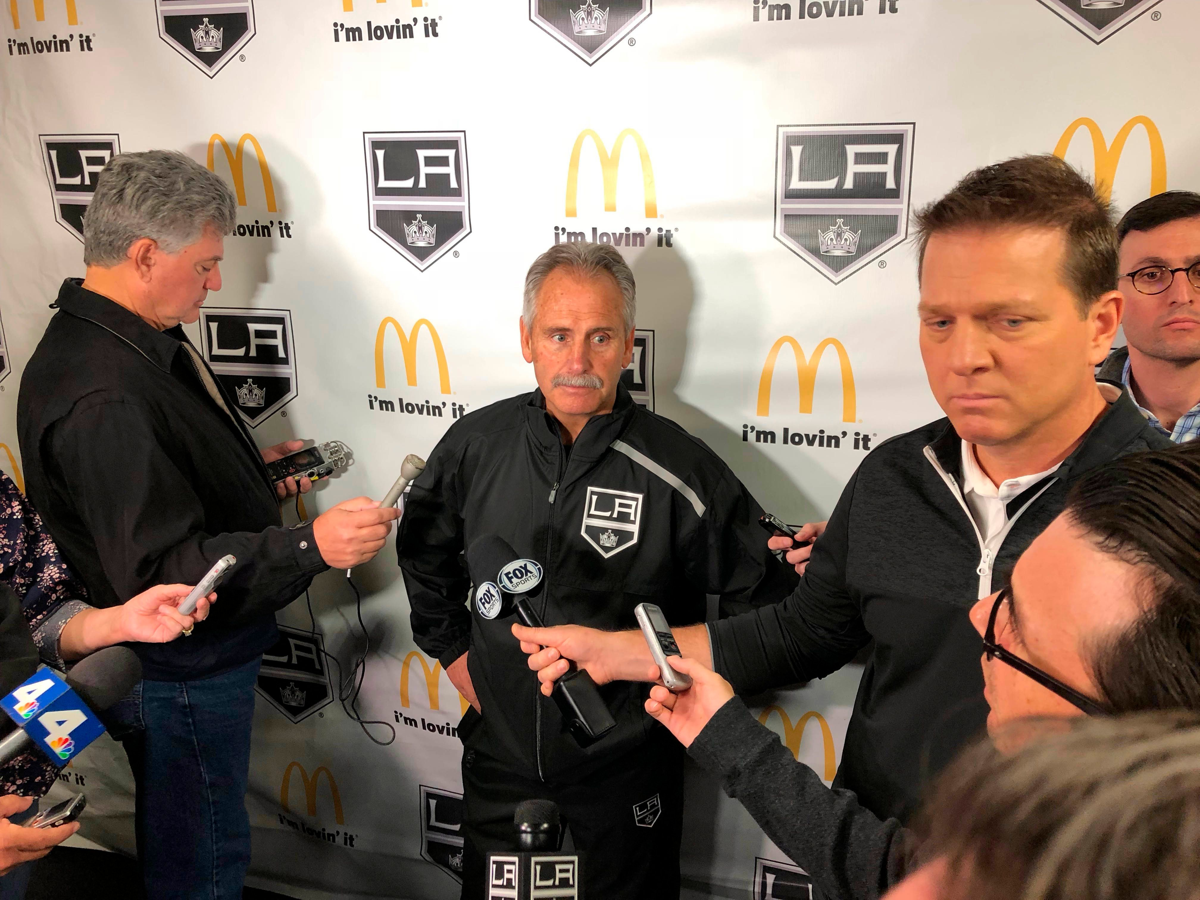 "New coach Desjardins says LA Kings have ""got to win now"""