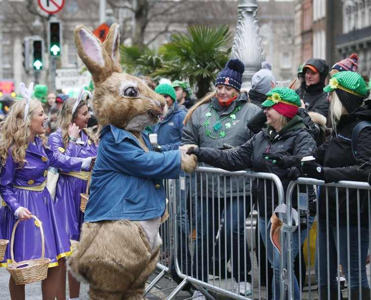 IN PICTURES: St Patrick's Day parades held across Ireland and around the world