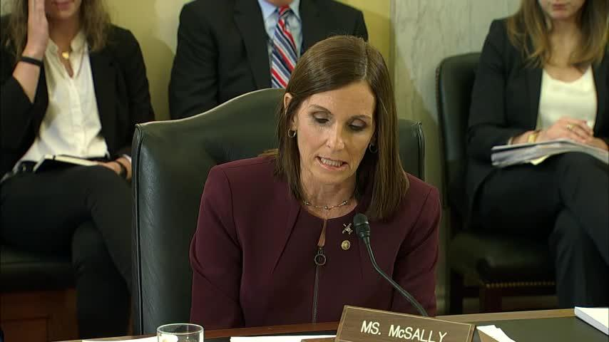 Sen. McSally says she was raped while in Air Force