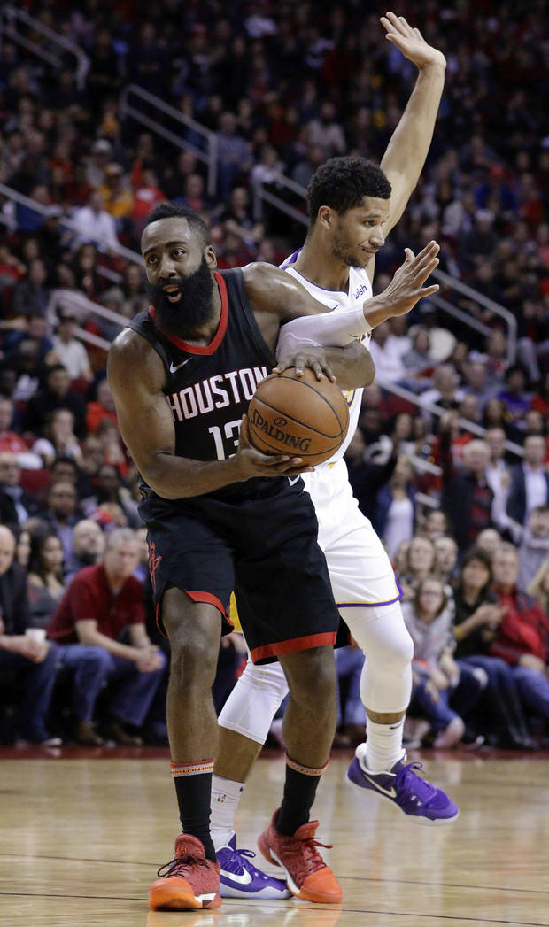 Houston's Harden out at least 2 weeks with hamstring injury