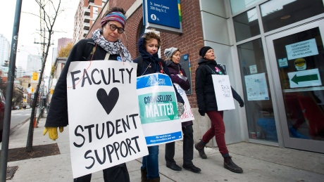 Ontario college strike ends as back-to-work legislation passed