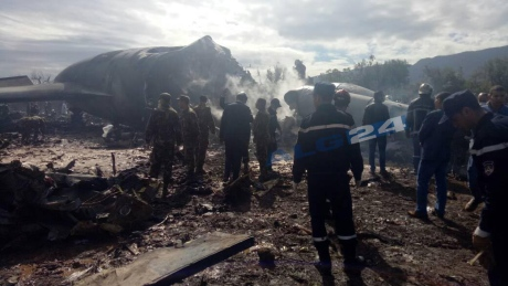 Algerian military plane crashes after takeoff, killing 257 people