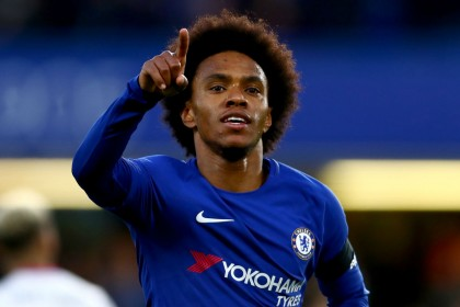 Man Utd transfer news: Willian tops Jose Mourinho's shopping list