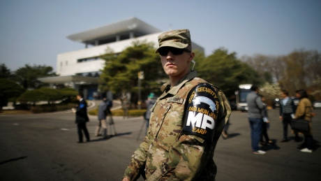 South Korea says U.S. military presence is not negotiable
