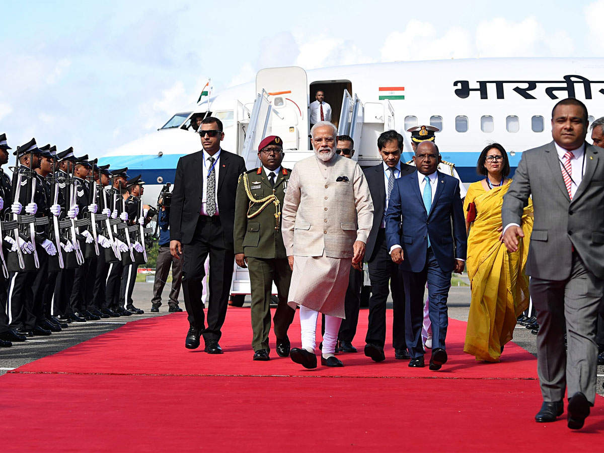 Maldives confers country's highest honour on PM Modi