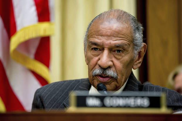 The Latest: Longtime Rep. John Conyers says he is retiring