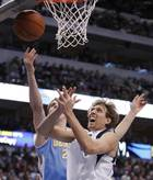 Lawson, Nuggets cruise by defenseless Mavs 115-93