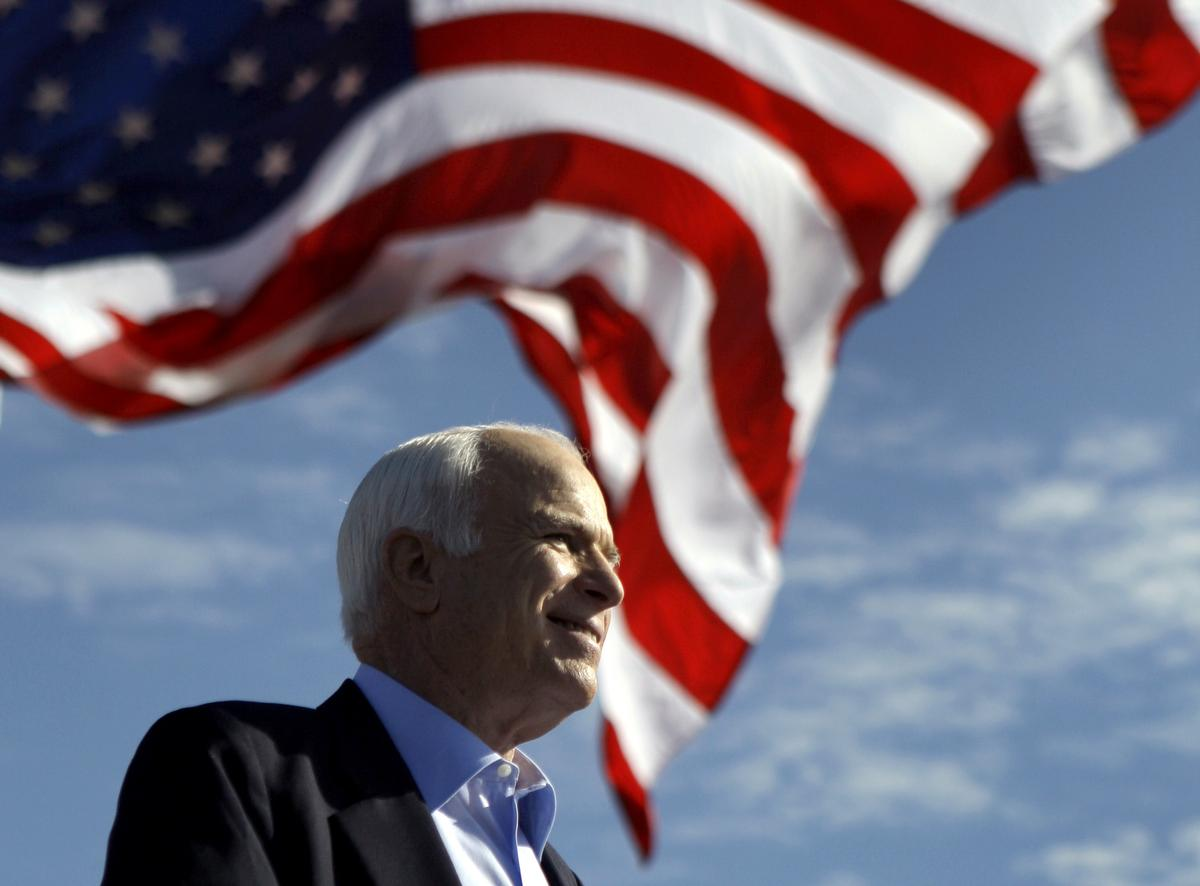 John McCain, longtime U.S. senator and former presidential candidate, dies at 81