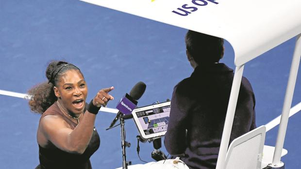 Serena Williams ensucia su leyenda