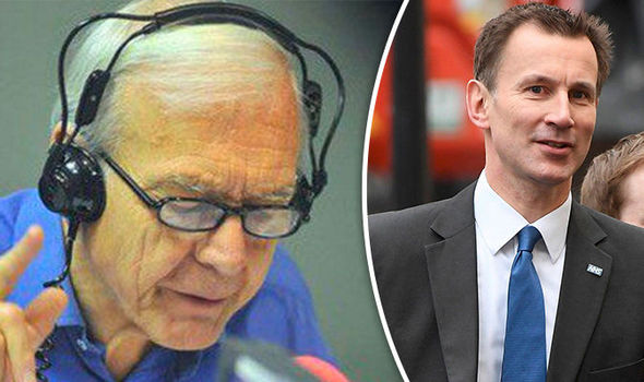 John Humphrys rips into Jeremy Hunt as Health Sec denies NHS faces 'humanitarian crisis'