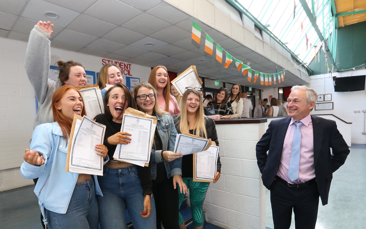 More than 57,000 students receiving Leaving Cert results today