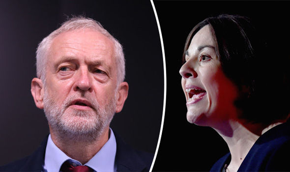 Jeremy Corbyn rejects Kezia Dugdale's new Act of Union plan