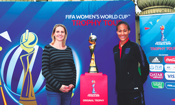 Excitement builds for women's World Cup