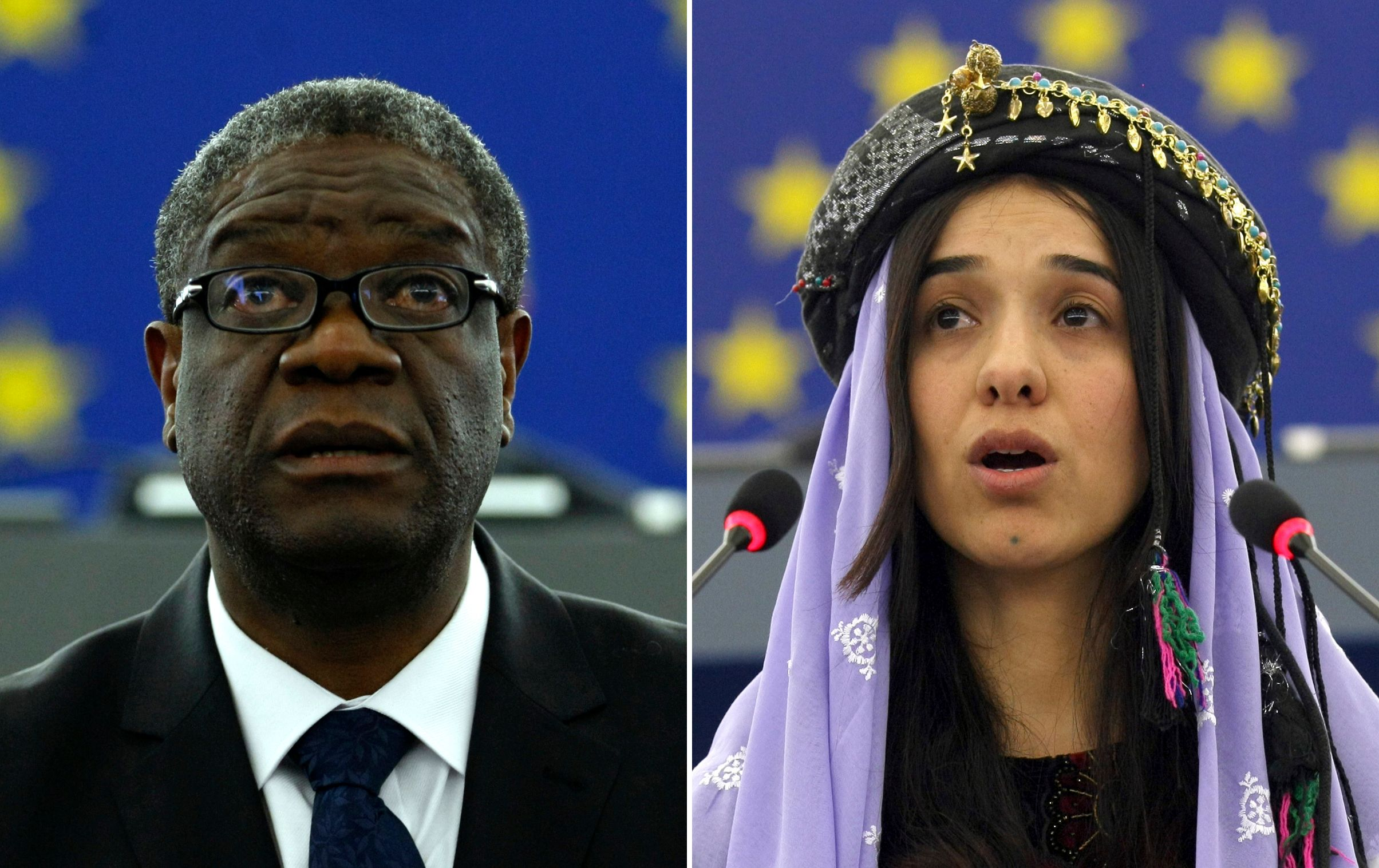 Anti-rape activists Denis Mukwege, Nadia Murad win 2018 Nobel Peace Prize