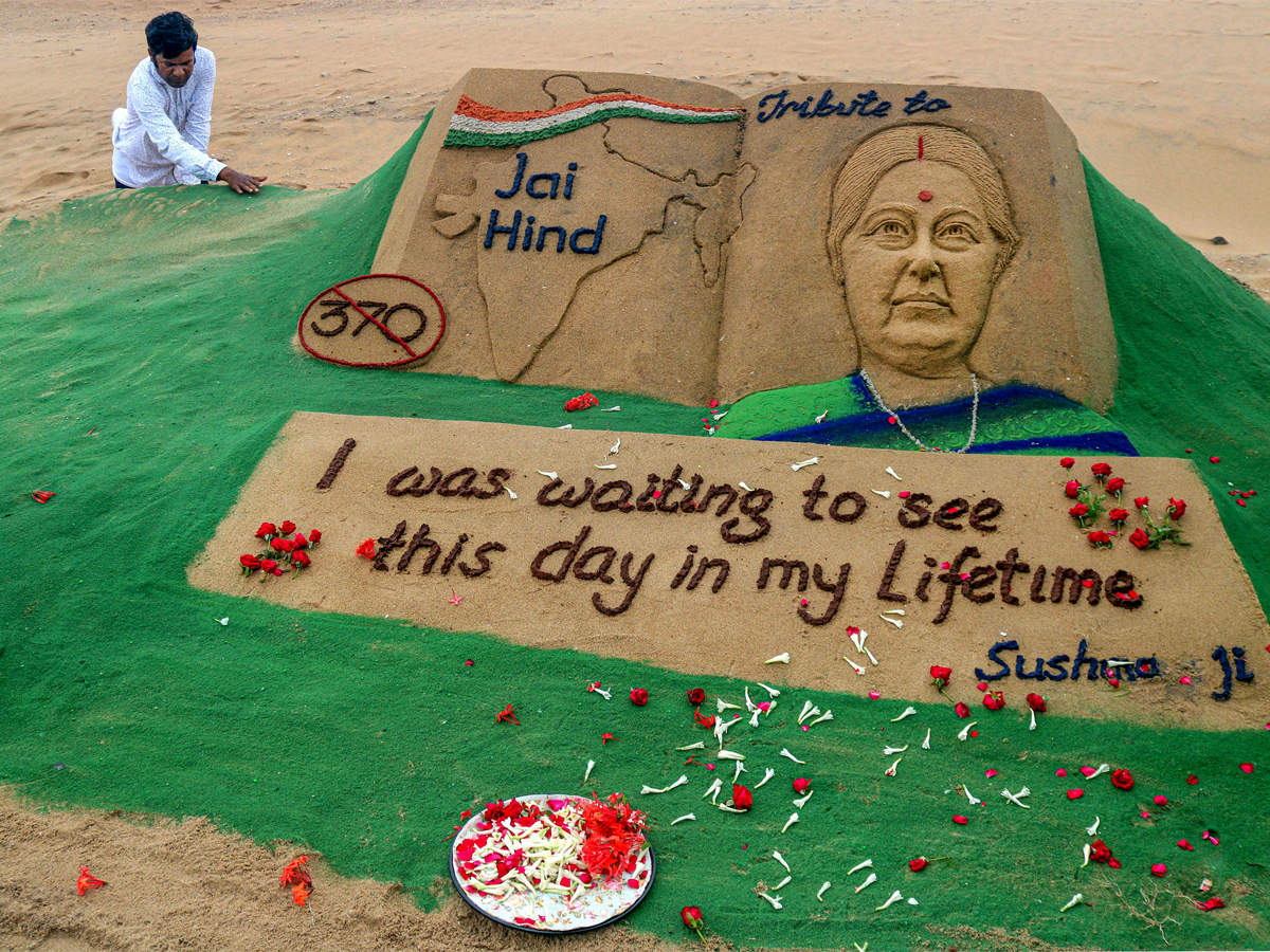 India bids farewell to Sushma Swaraj -- one of its finest leaders in decades