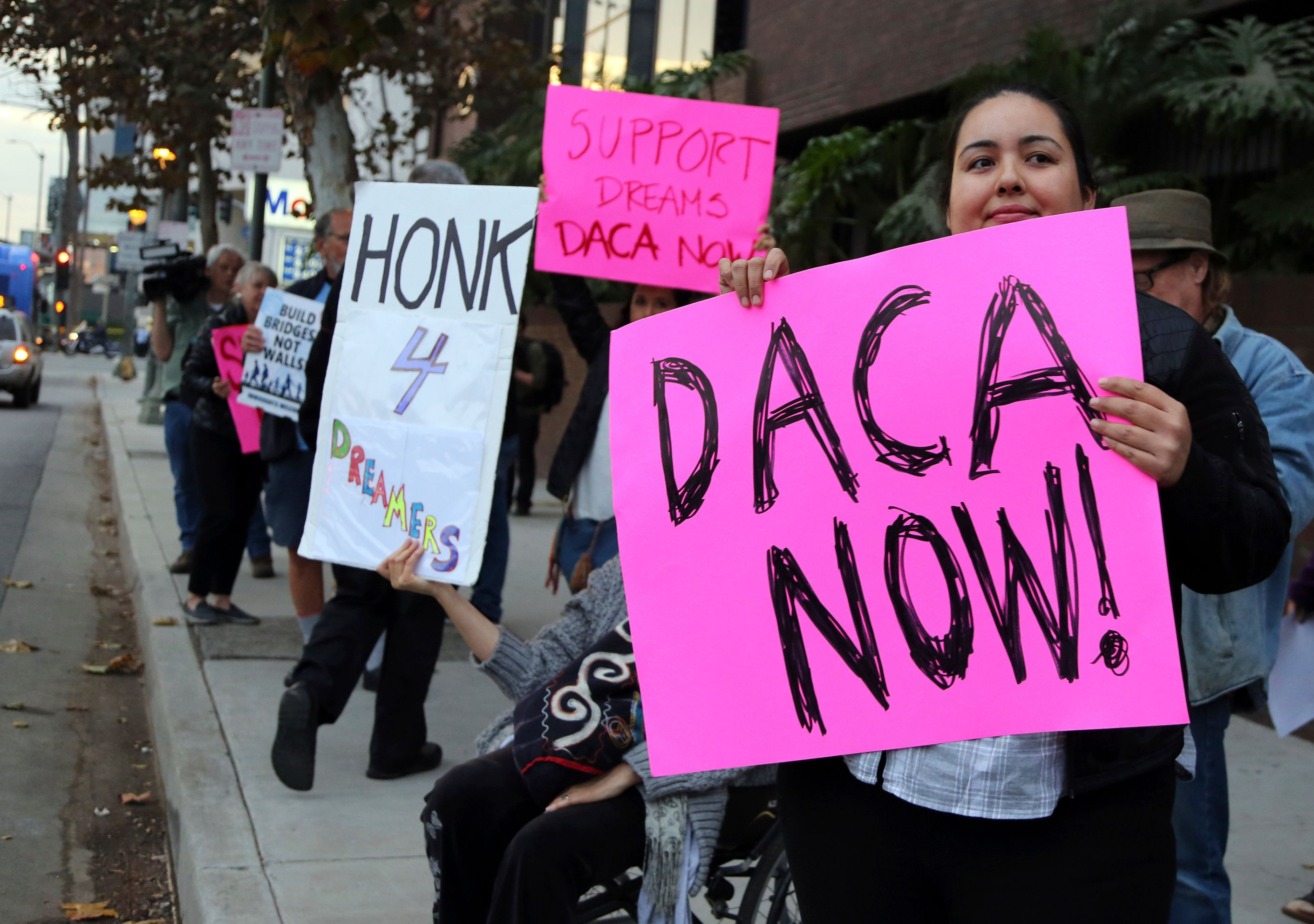 Federal judge temporarily blocks Trump's decision to end DACA