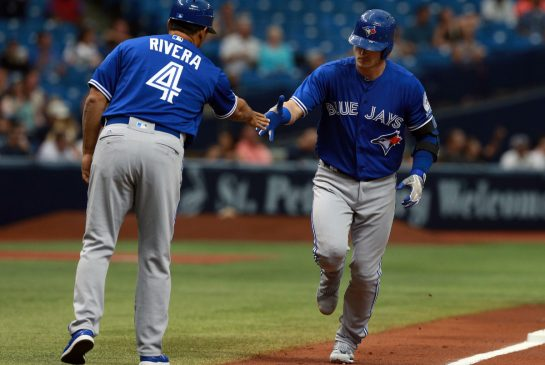 Josh Donaldson exits with calf injury in Blue Jays loss to Rays