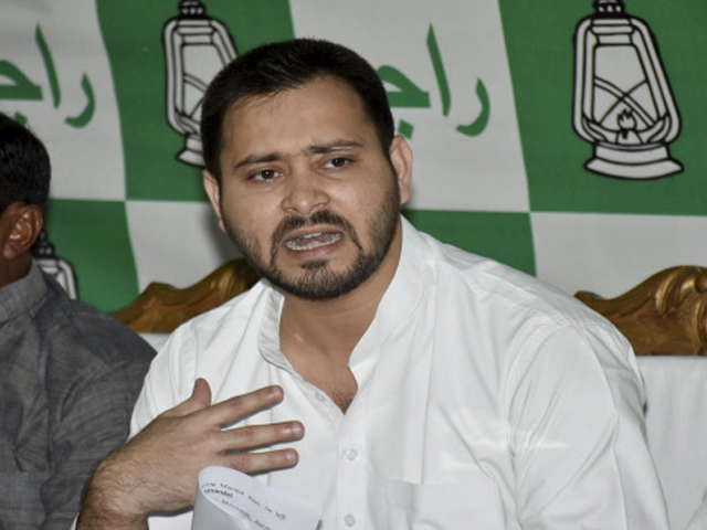 Tejashwi Yadav demands CBI probe into Rs 1,000 cr Srijan scam