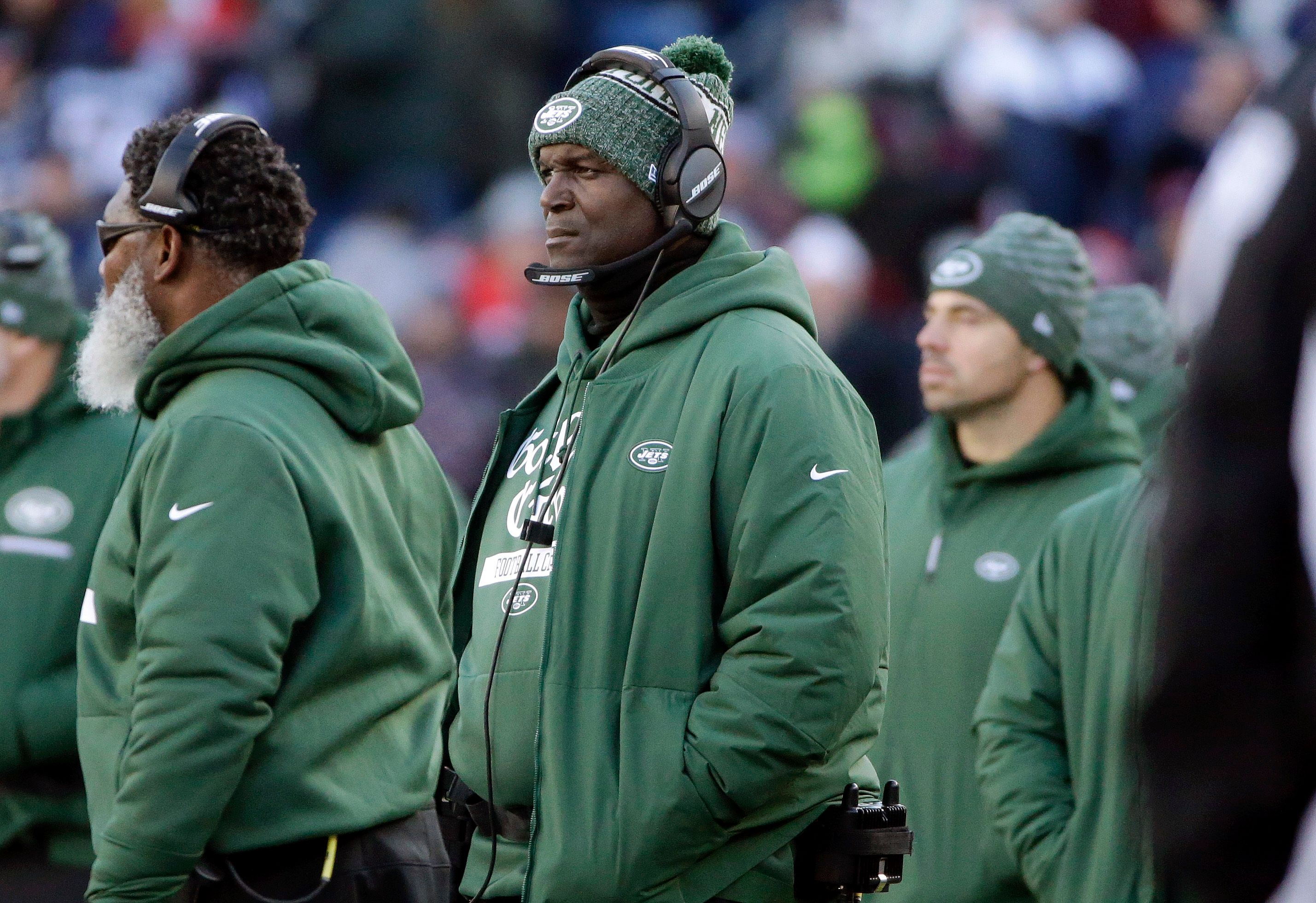 Jets fire coach Todd Bowles after 4 seasons with no playoffs
