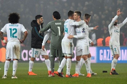 Champions League: PSG are no match for holders Real Madrid