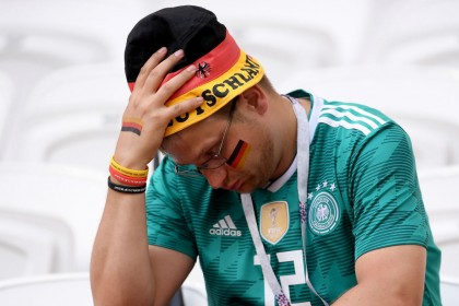 Germany crash out of the World Cup - how Twitter reacted