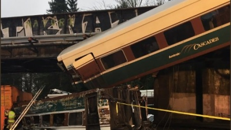 'Some fatalities' reported after Amtrak train derails onto highway near Seattle